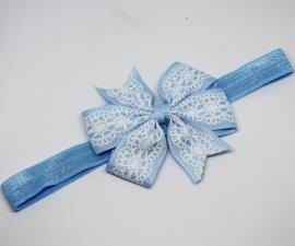 Haarband Melanie lichtblauw