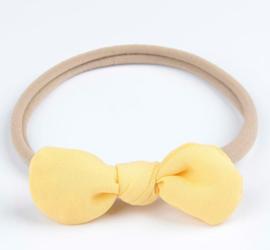 Haarband Fleur geel