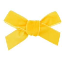 Strik Emily fluweel 7cm geel