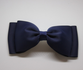 Strik dubbel 11cm donkerblauw