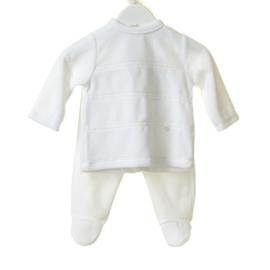 Babypakje velours 3-delig