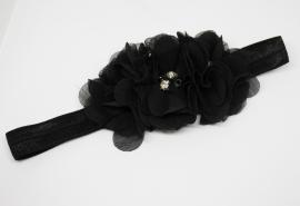 Haarband Lonneke zwart