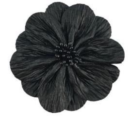 Bloem Lily 8cm zwart