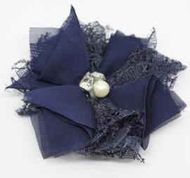 Bloem Jessica donkerblauw