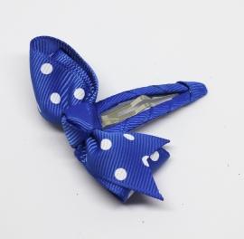 Knipje Lisanne kobalt blauw