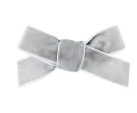 Strik Emily fluweel 7cm grijs