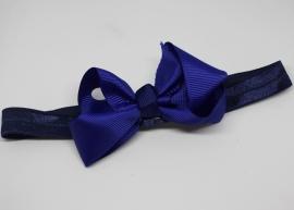 Haarband Merel kobalt blauw