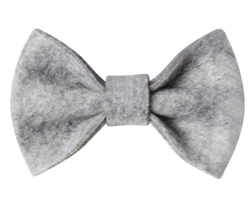 Strik vilt 7,5 cm grijs