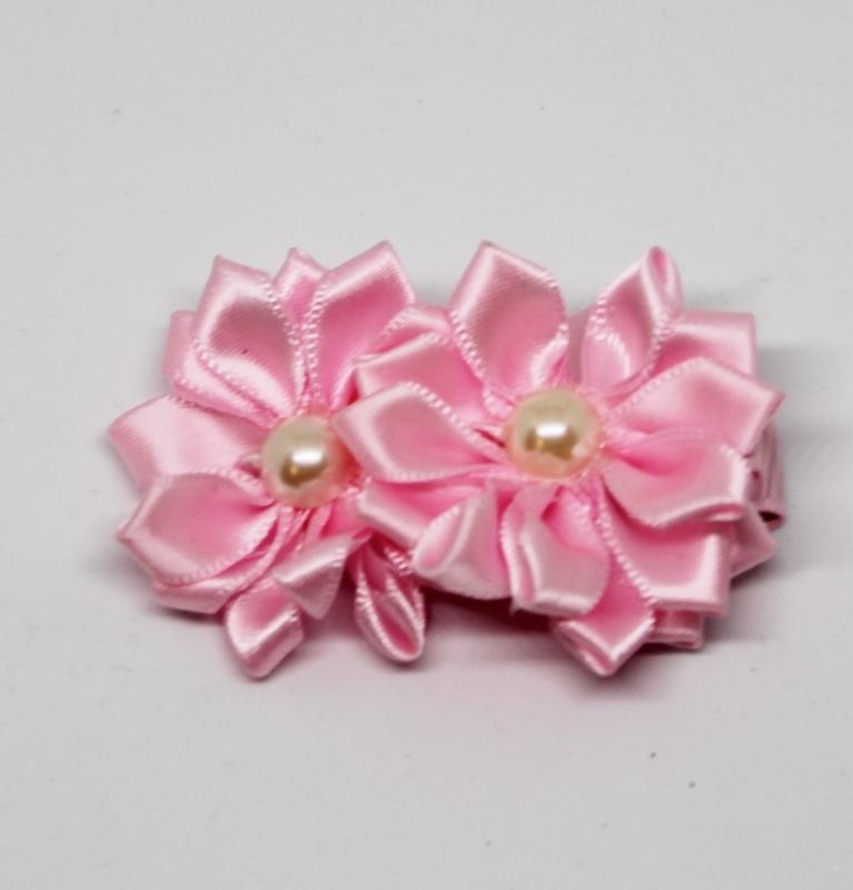 Haarclip Susan roze