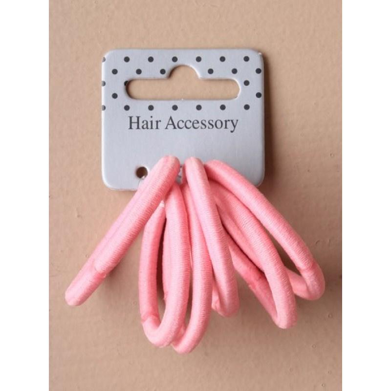 Set elastiekjes roze