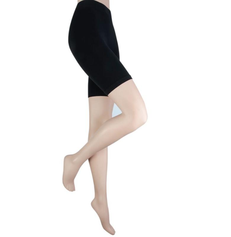 Dames legging kort model zwart