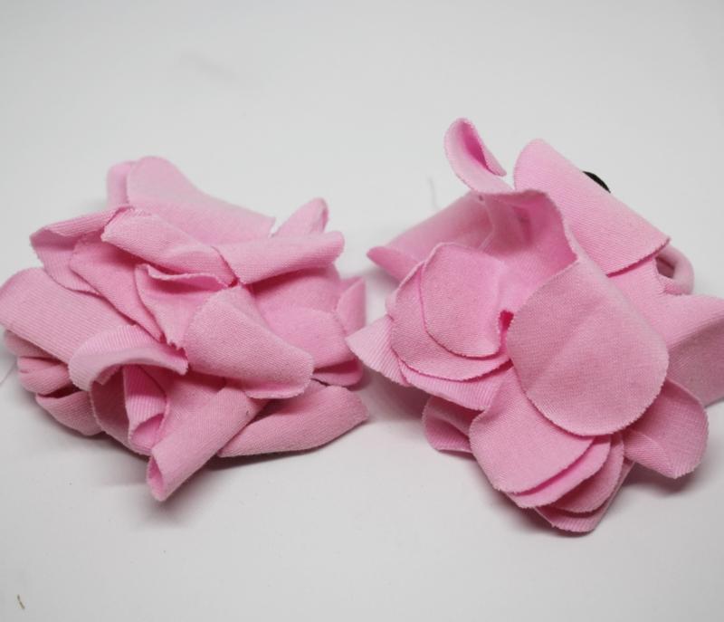Footflowers roze