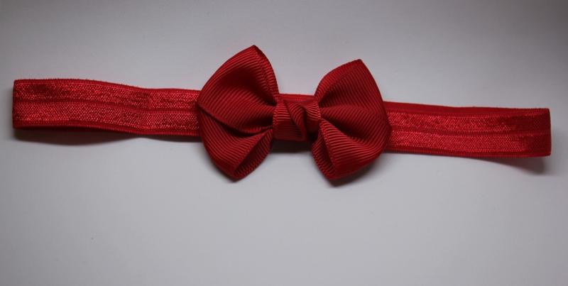 Haarband Madelon rood