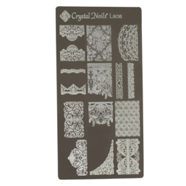 CN Nailstamp Template Lace