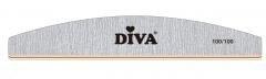 Diva Zebra Vijl Halfmoon 100/100