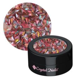 Nail decoration glitter 3D peach