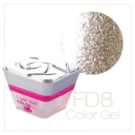 CN Full Diamond Color Gel FD8