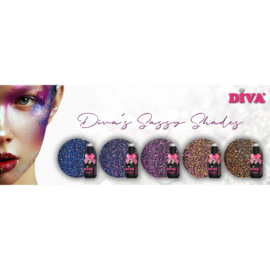 Diva Gellak Cat Eye Diva's Sassy Shades Collection 4+1 gratis