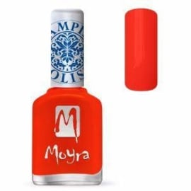 Moyra Stamping Nail Polish Neon Red 12ml sp21