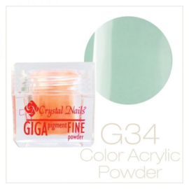 CN Giga Pigment Color Powder 034