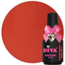 Diva Gellak Amber Glow 15 ml