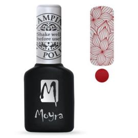 Moyra Stamping Gel Polish Red sgp 06