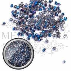 Mix Metal Art Box Zilver Blauw