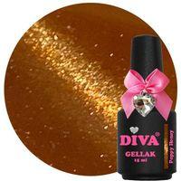 Diva Gellak Cat Eye Poppy Honey 15 ml