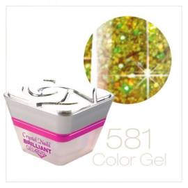 CN Multi Glitter Color Gel 581