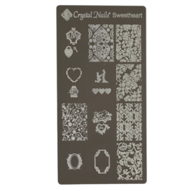 CN Nailstamp Template Sweetheart