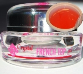 french top gel roze/rood 15 ml