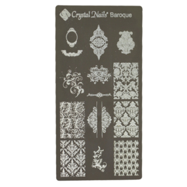 CN Nailstamp Template Baroque