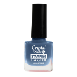 CN Stamping Lacquer Chrome Blue 4ml