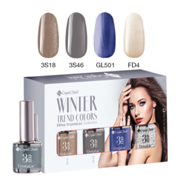 CN Trend Colors Winter 2016/2017 3 Step Crystalac Kit