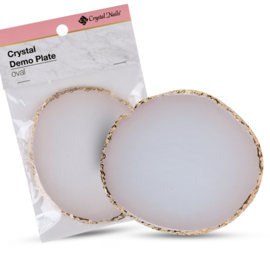 CN Crystal Demo Plate Oval