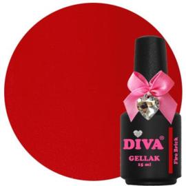 Diva Gellak Fire Brick 15 ml