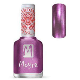 Moyra Stamping Nail Polish Chrome Purple 12ml sp28