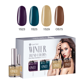 CN Trend Colors Winter 2016/2017 One Step Crystalac Kit
