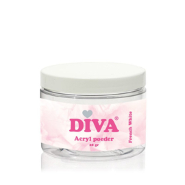 Diva Acryl Poeder French White 20 gram