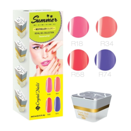 2016 Bestseller Colors summer Royal gel kit