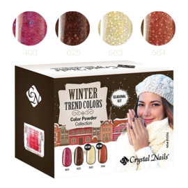2015 Color Trends Winter color powder kit