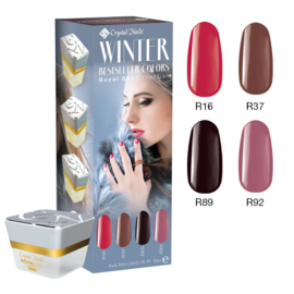 CN Bestseller Colors Winter 2016/2017 Royal Gel Kit