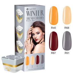 CN Trend Colors Winter 2016/2017 Royal Gel Kit