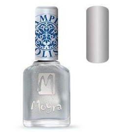 Moyra Stamping Nail Polish Silver 12ml sp08