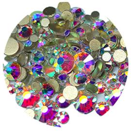 Crystal Facet Strass Gekleurd Crystal