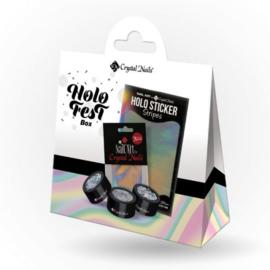 CN HoloFest Nail Art boksz