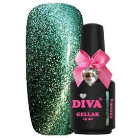 Diva Gellak Cat Eye Glittering 15 ml