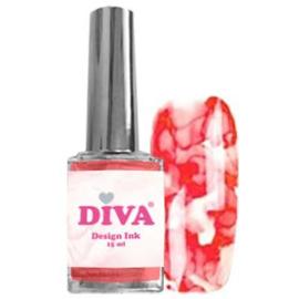 Diva Design Ink Red
