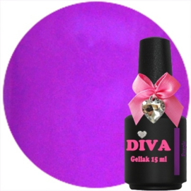Diva Gel Lak Neon Purple 15 ml