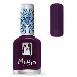 Moyra Stamping Nail Polish Purple 12ml sp04